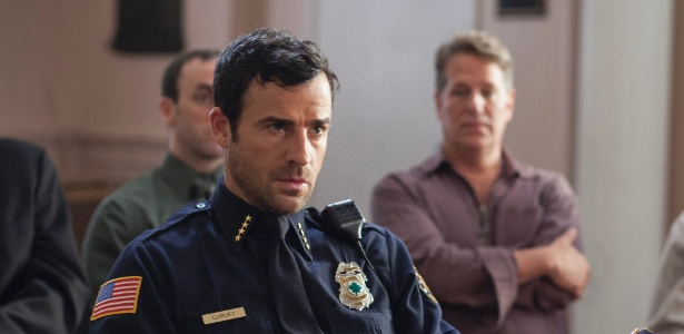 "Justin Theroux em cena de ""The Leftovers"""