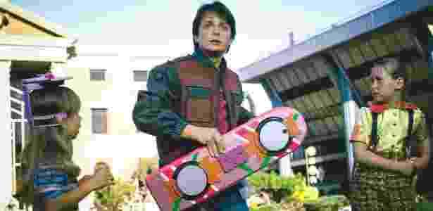 """Michael J. Fox em cena de """"De Volta Para o Futuro 2"""" - Divulgação - Divulgação"""