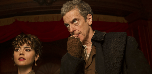 Peter Capaldi como o novo Doctor Who