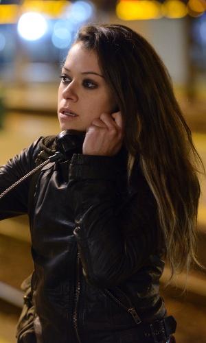 """Tatiana Maslany em cena da série """"Orphan Black"""""""
