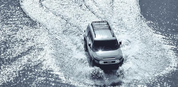 FJ Cruiser foi jipão da Toyota para encarar Hummer, Wrangler e Defender - Divulgação