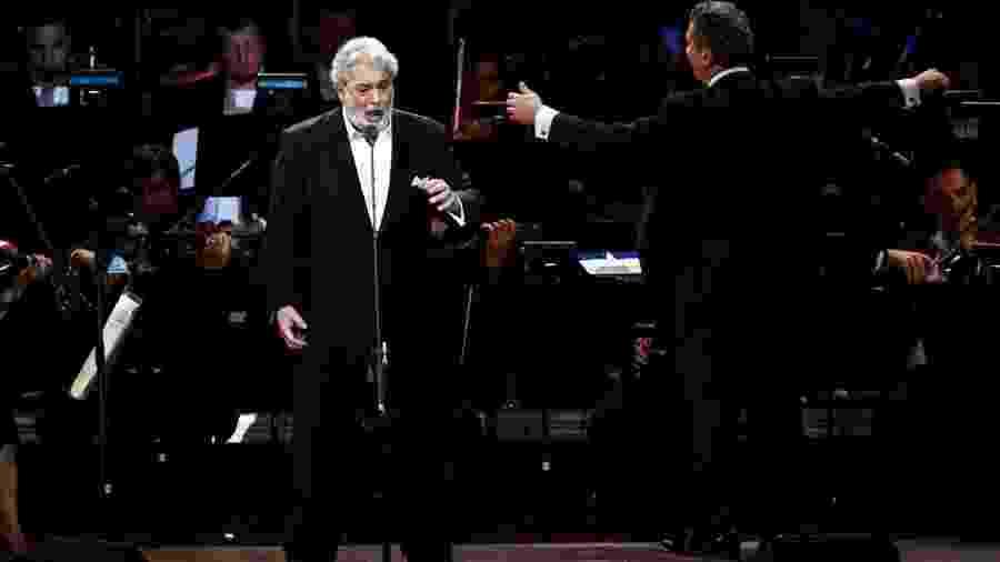 Tenor Plácido Domingo se apresenta em grande concerto no HSBC Arena, no Rio de Janeiro - Manuela Scarpa/Photo Rio News