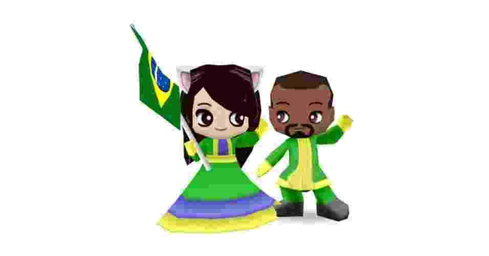 """Classificado pelo Orkut como jogo, o """"BuddyPoke"""" era na verdade um aplicativo para brincar e interagir com avatares que lembram os Miis, da Nintendo - Divulgação"""