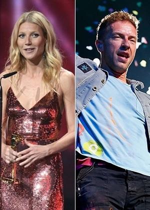 A atriz Gwyneth Paltrow e o cantor Chris Martin, que se separaram em março de 2014 - EFE/Britta Pedersen - Getty Images