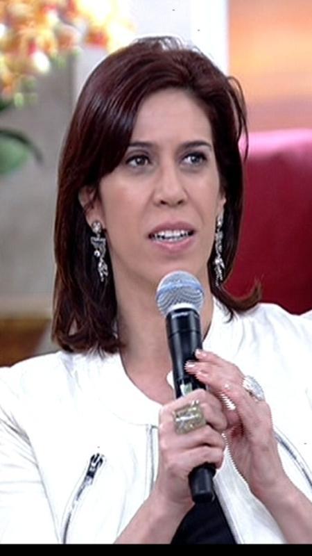 """Maria Clara Gueiros comenta saia justa no """"Mais Você"""" - Reprodução/TV Globo"""