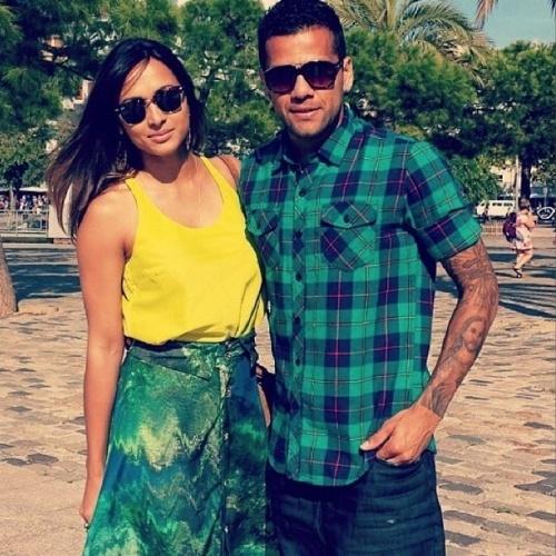 15.jul.2014 - Thaíssa Carvalho falou no Instagram sobre o fim do namoro com Daniel Alves