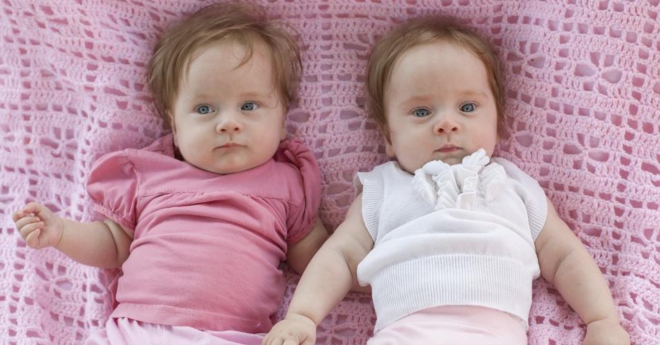 bebês, gêmeos