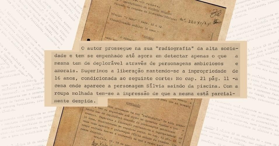 """Censores criticam retrato que o autor Bráulio Pedroso fazia da alta sociedade em versão original da novela """"O Rebu"""""""