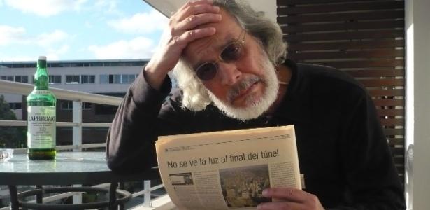 Charles Peixoto, escritor carioca de literatura marginal - Arquivo pessoal