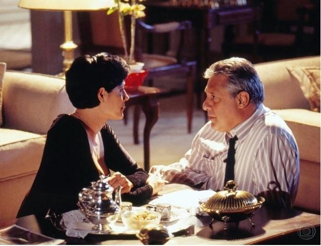 """Christiane Torloni e Antonio Fagundes em cena de """"A Viagem"""""""