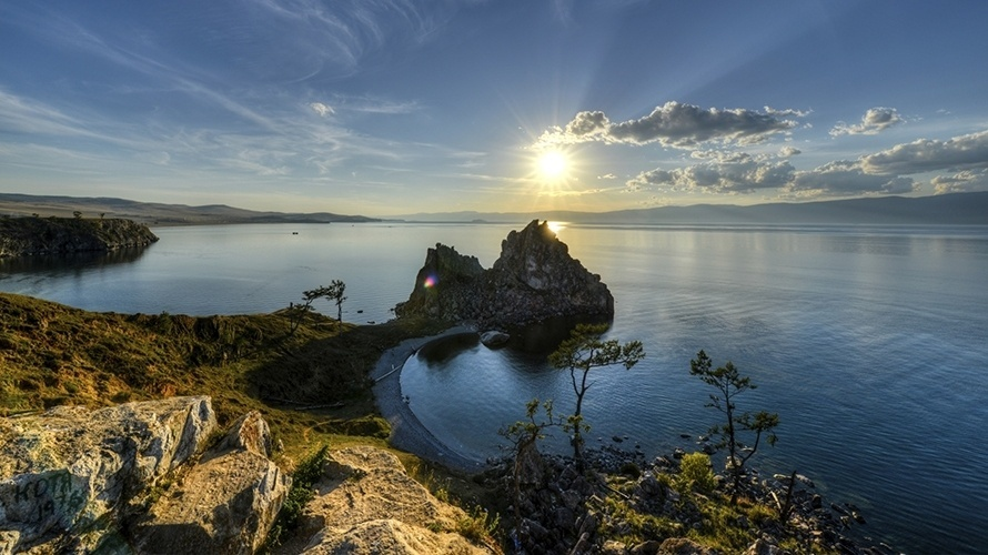 Lago Baikal - Rússia