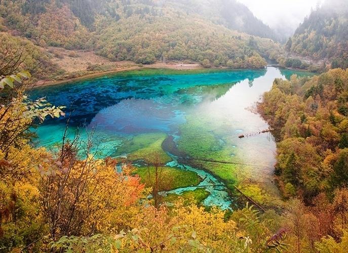 Lago das Cinco Flores - China