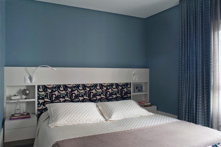 Cabeceiras interessantes e bonitas deixam o quarto mais - Paredes pintadas ...