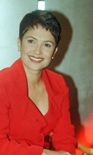 A apresentador e jornalista Sandra Annenberg