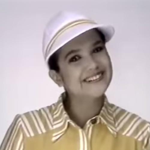 A apresentadora e jornalista Sandra Annenberg em comercial do McDonald's