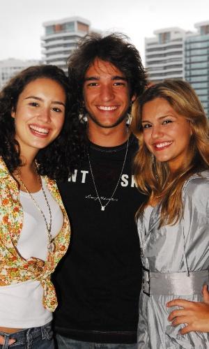"""Amanda Richter, Humberto Carrão e Jéssika Alves em """"Malhação"""" (2009)"""
