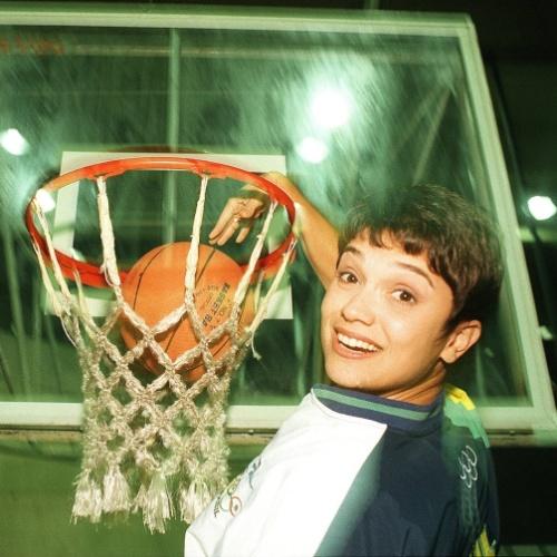 Em 1996, Sandra Annenberg fez parte do time de jornalistas que cobriu as Olimpíadas de Atlanta