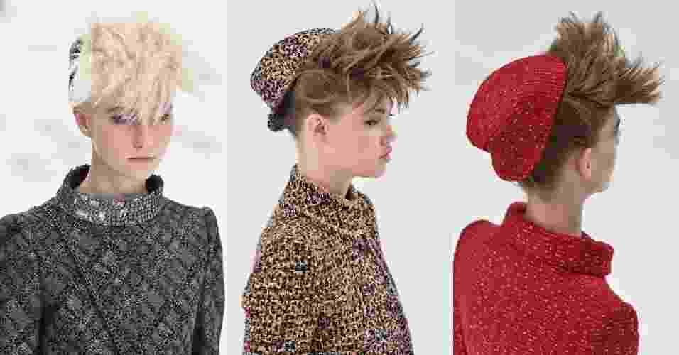 Montagem passo a passo Chanel alta-costura - Pascal Le Segretain/Getty Images