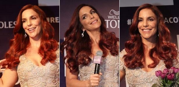 A cantora mudou o tom dos cabelos em parceria com uma marca de tinturas - Cláudio Augusto/PhotoRio News