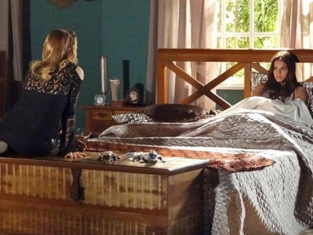 Shirley diz que ia deixar Luiza morrer afogada