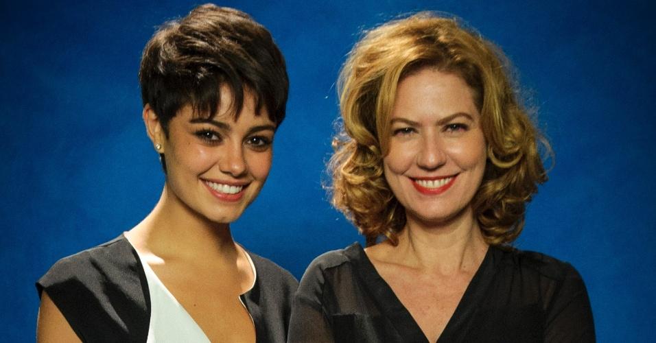 """Sophie Charlotte e Patricia Pillar são Duda e Angela de """"O Rebu"""""""
