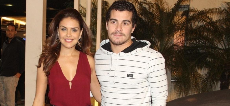 Thyago Andrade e Graça Paes/Photo Rio News