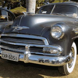 Chevrolet Sedanet De Luxe 1951 de propriedade de Paulo Marchesini de Jaguariúna, SP, no 10º Encontro dos Amigos do Carro Antigo de Jaguariúna, SP - Murilo Góes/UOL