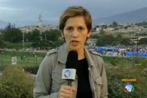 Heloísa Villela é repórter da Record em Nova York
