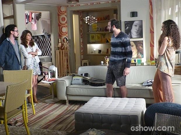 Jana conta para Manu que está grávida de Igor