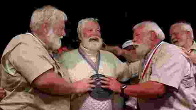 Jul.2014 - Concurso de sósias do escritor Ernest Hemingway em Key West, na Flórida (EUA) - BBC