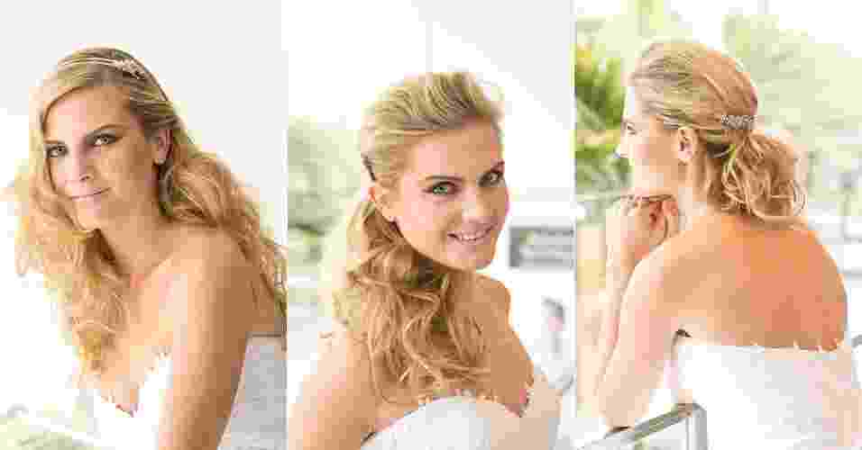 Para fazer em casa: Marco Antonio de Biaggi ensina três penteados fáceis para noivas - Rodrigo Capote/UOL