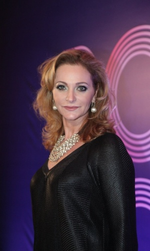 "22.jul.2014- Alexandra Richter participa de lançamento de ""Boogie Oogie"" no Rio"