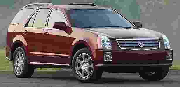 Cadillac SRX 2005 - Divulgação - Divulgação