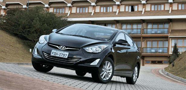 Hyundai Elantra 2015 - Divulgação - Divulgação