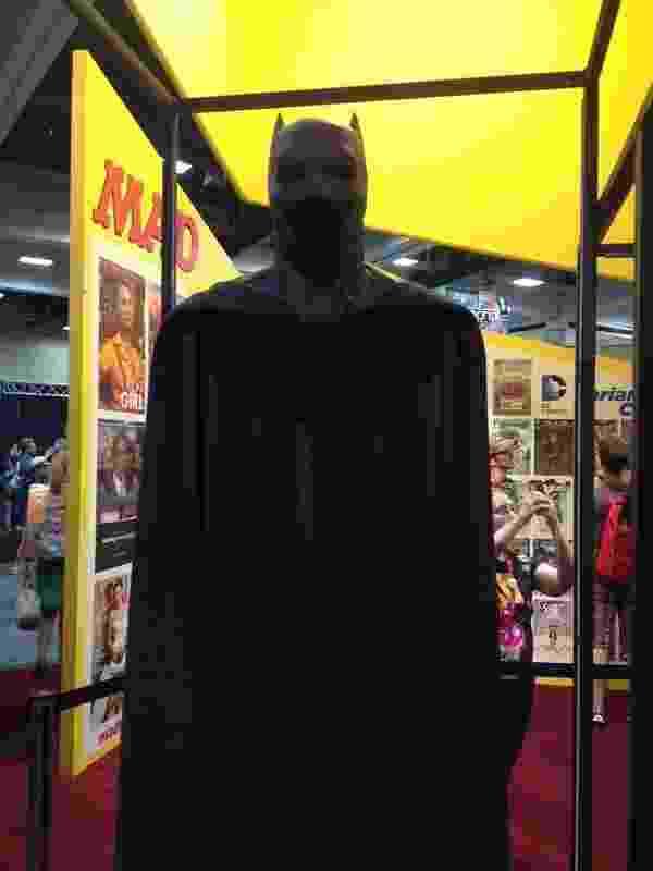 23.jul.2014 - Exposição Batman na Comic-Con 2014 - James Cimino/UOL