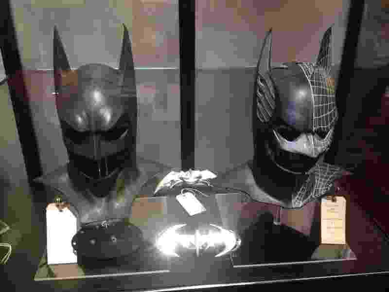 23.jul.2014 - Exposição Batman na San Diego Comic-Con 2014 - James Cimino/UOL