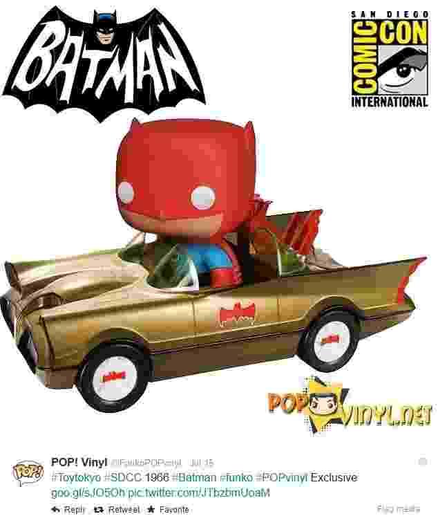 Batman POP Vinyl exclusivo Comic-Con 2014 - Reprodução