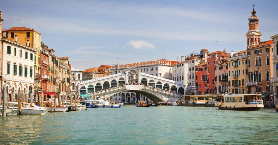 Cidade de Veneza, na Itália