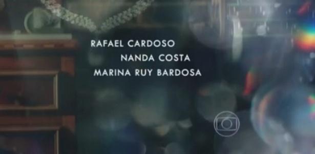 """Nome de Marina Ruy Barbosa aparece com erro de digitação em abertura de """"Império"""""""