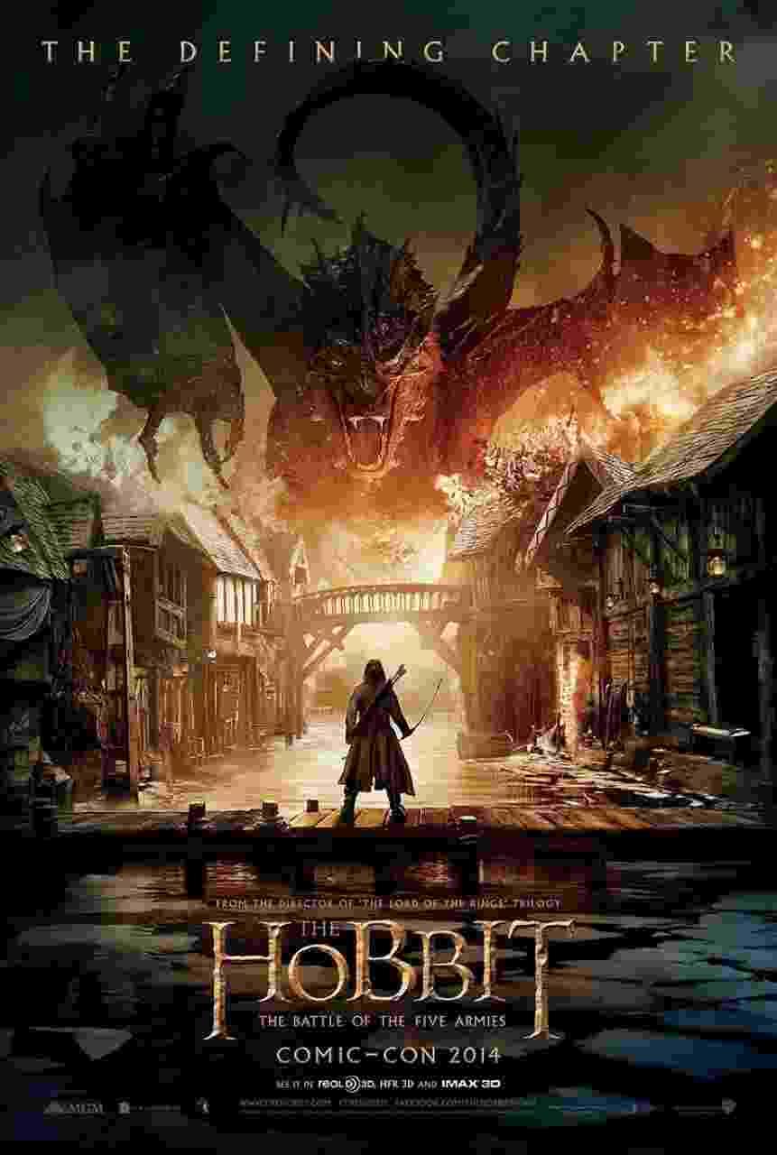 O Hobbit A Batalha dos Cinco Exércitos - Reprodução