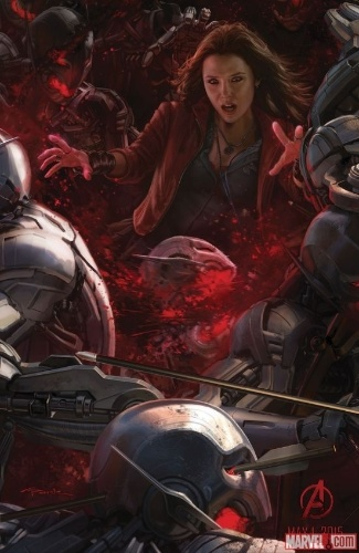 Os Vingadores A Era de Ultron Comic-Con 2014 Feiticeira Escarlate