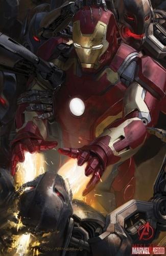 Os Vingadores A Era de Ultron Comic-Con 2014 Homem de Ferro