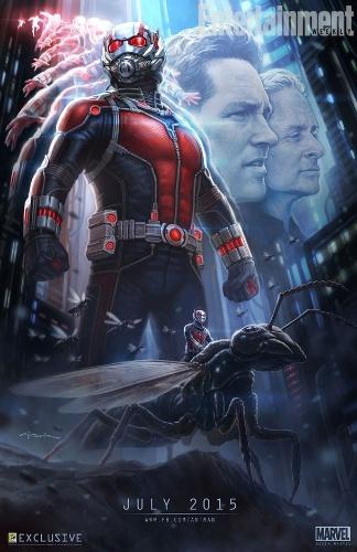 Primeiro poster de Homem-Formiga filme da Marvel