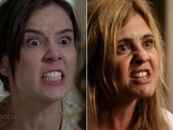 """Um internauta comparou Cora à vilã Carminha, interpretada por Adriana Esteves em """"Avenida Brasil"""""""