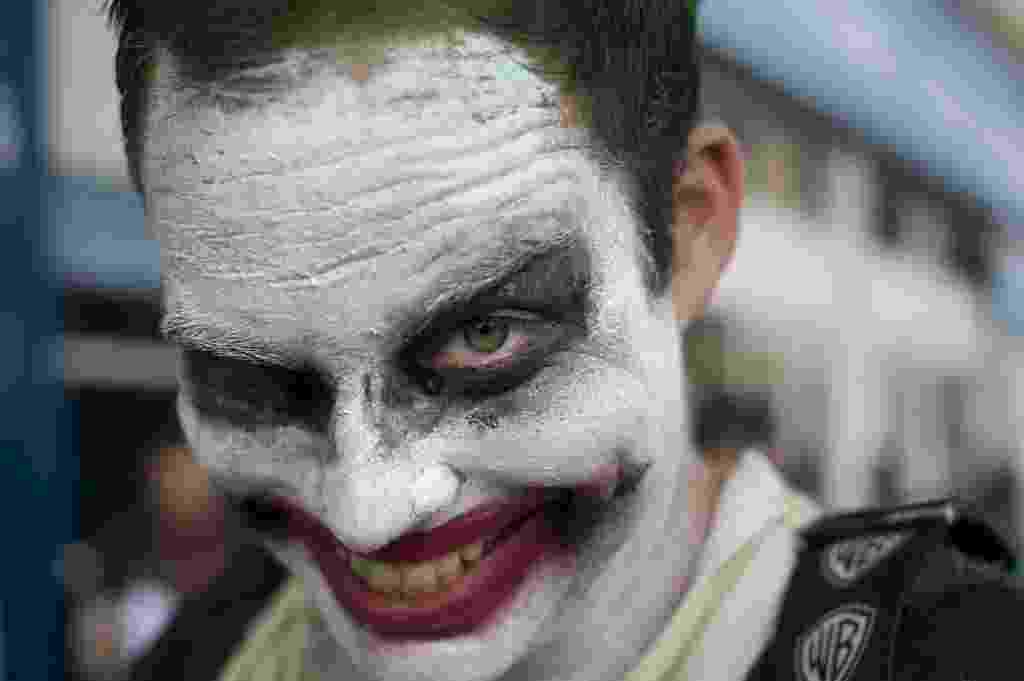 24.jul.2014 - Fã posa de cosplay na San Diego Comic-con - David Maung/EFE