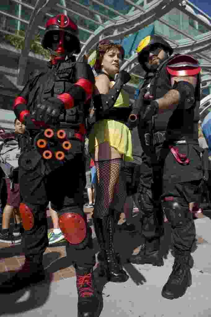 24.jul.2014 - Fãs posam de cosplay na San Diego Comic-con - David Maung/EFE