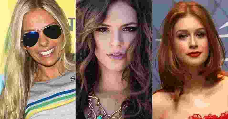 Adriane Galisteu, Bruna Marquezine e Marina Ruy Barbosa - Foto Rio News/Manuela Scarpa/Instagram