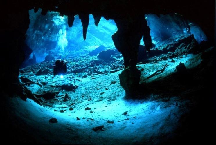 Cenote dos Ojos, México: Esta aventura subaquática pelos 61 km de grutas e túneis de um dos dez maiores sistemas de cavernas do mundo é o local dos sonhos para mergulhadores iniciantes e experientes