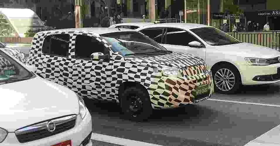 Fiat Uno 2015 flagrado - Luccas Nascimento Borges/UOL