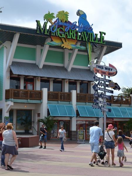 "Jimmy Buffett""s Margaritaville no CityWalk, complexo de lazer do Universal Orlando Resort - Mônica de Souza/UOL"